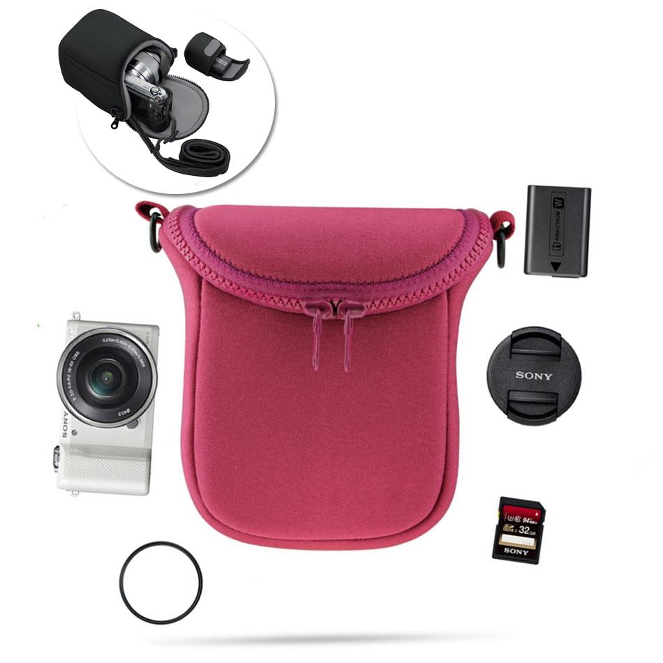 Водонепроницаемый Мягкий чехол для камеры Sony A5100 A5000 A6000 A6300 H400 H300 HX90 HX60 HX50 RX100 V RX100M4 NEX3 NEX3N NEX5 NEX6