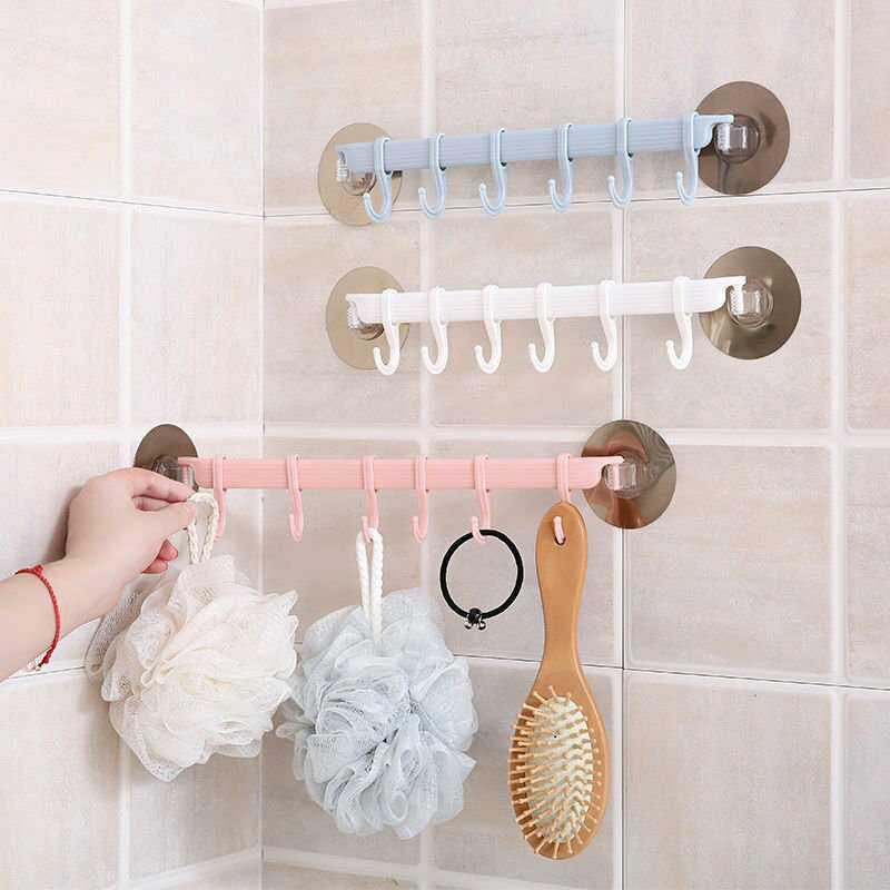 Soporte ajustable para toallas de baño estante colgante gabinete esquina esponja cepillo gancho estante organizador cocina baño accesorios
