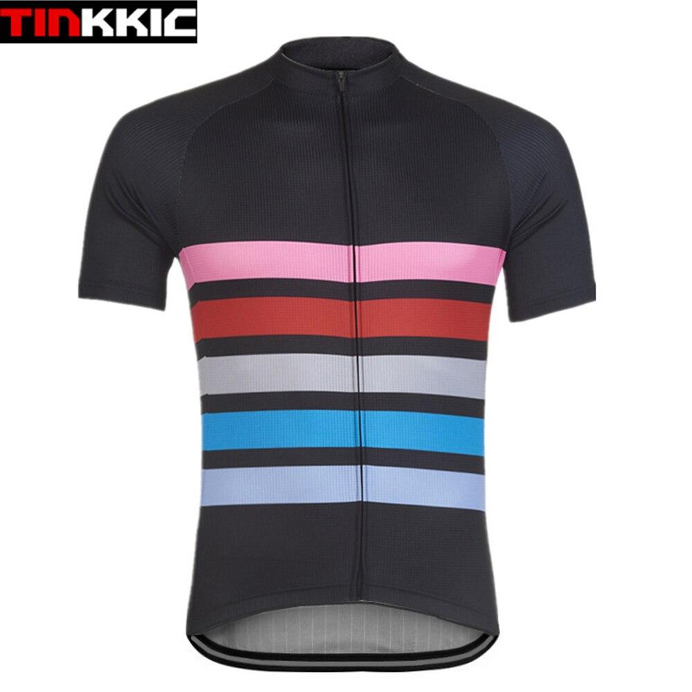 Tinkkic-camisetas de manga corta para Ciclismo para hombre, Maillot para Ciclismo de...