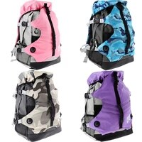 roller skates backpack inline skates skating shoes boots carry bag ice skates storage knapsack outdoor sports bags for men women