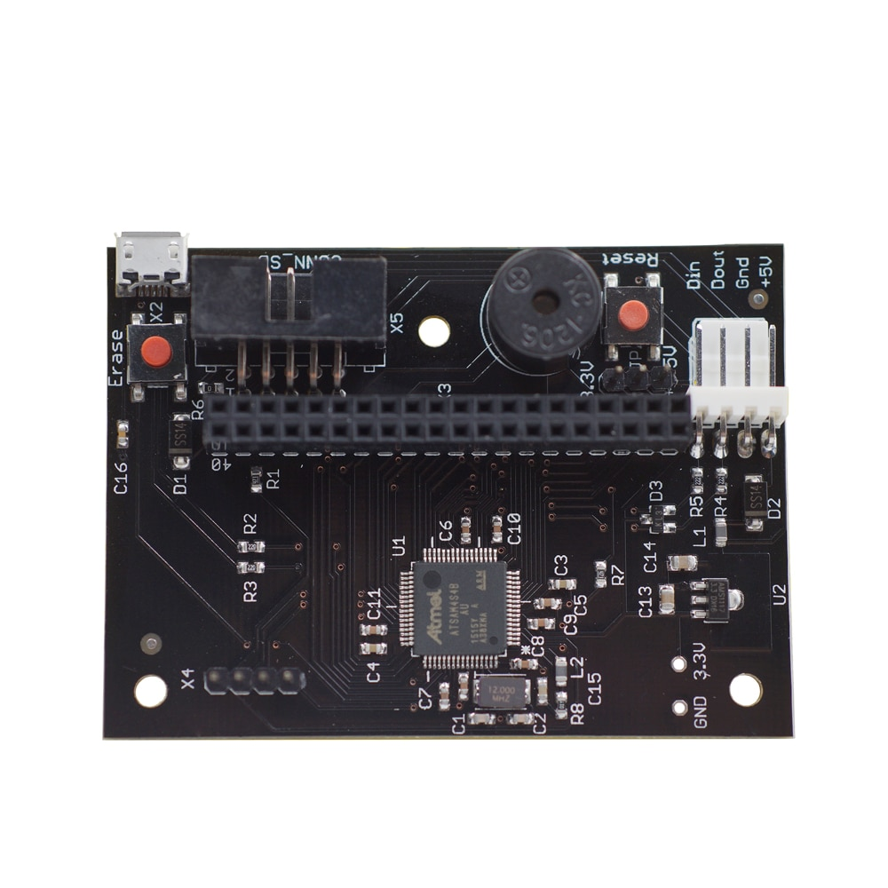 Cloned PanelDue плата контроллера сенсорного экрана совместима с экраном 4,3