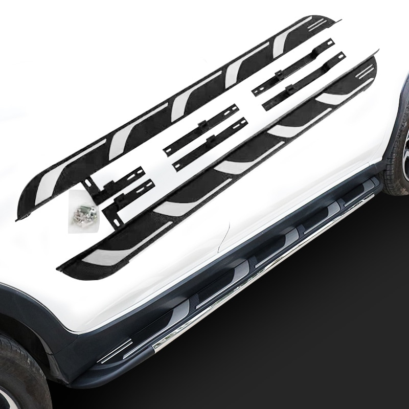 Barra de aluminio para correr, ajuste lateral para Subaru All new XV Crosstrek 2018 2019 2020