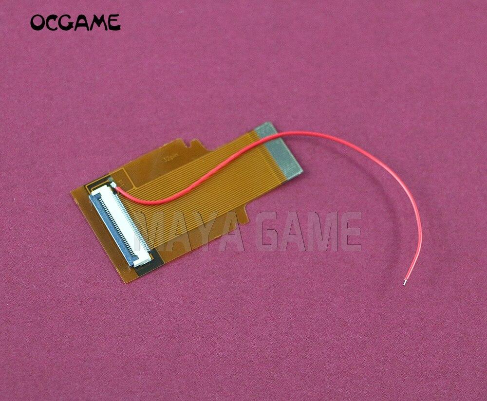 Adaptador Fita Cabo Backlit OCGAME Para Nintendo Game Boy Advance 40 PIN B & 32 PIN UM AGS 101