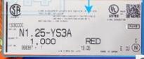 N1.25-YS3A الأحمر محطات موصلات محطات إيواء 100% ٪ أجزاء جديدة ومبتكرة