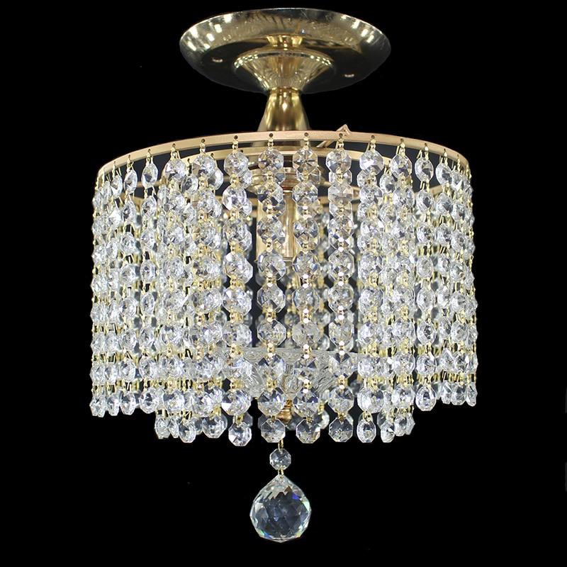 Modern golden royal crystal lustre Ceiling Lights E27 vintage art deco LED ceiling Lamp Luminaire For Living Room bedroom hotel