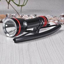 Professional Diving Flashlight L2 Underwater 200 meter Diving Torch Linternas Waterproof Light Lamp