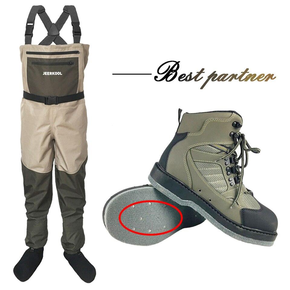 Fly Fishing Shoes With Nails & Pants кроссовки из фетра Aqua с подошвой комплект одежды спортивная