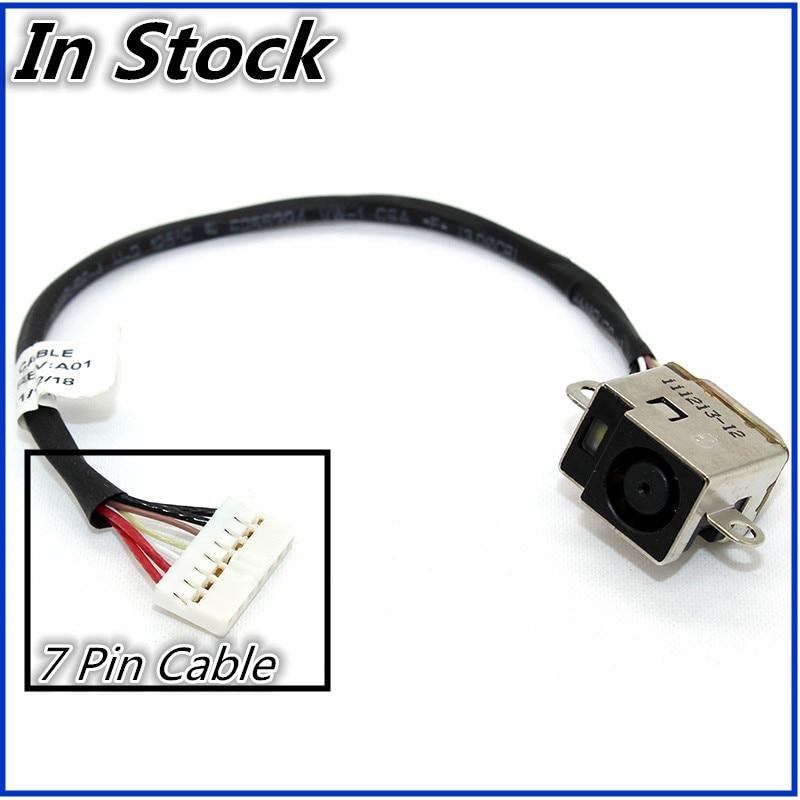 Nueva computadora portátil Cable DC Power Jack conector de enchufe de carga puerto de Cable para HP DV6-6000 DV6-6100 DV7-6000