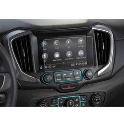 Para GMC Terrain 2018 2019 8 Polegada Etiqueta De Vidro Temperado Protetor de Tela de Navegação Do Carro GPS Do Carro Película de Proteção de Tela de Exibição