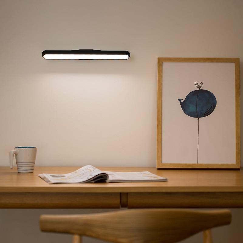 LED Touch Sensor Kitchen Cabinet Light Lamp Dimmable Wardrobe Closet Showcase Bookshelf USB Charging Reading Lamp