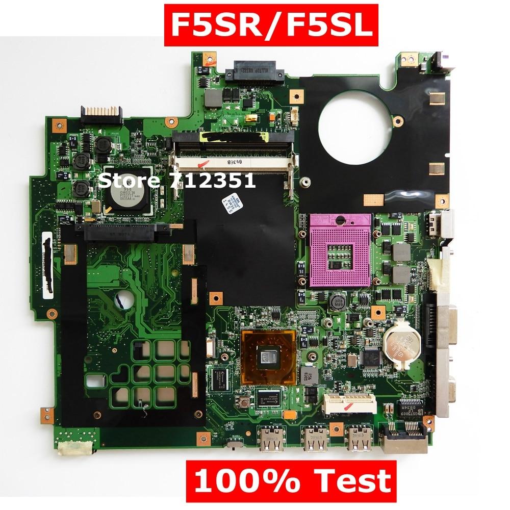 F5SR F5SL HD3470 tarjeta gráfica placa base REV2.1 para ASUS F5SR F5SL...