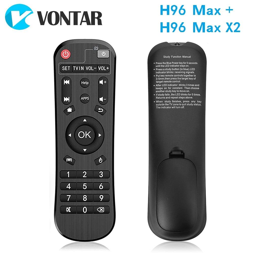 Echtes Fernbedienung für H96 MAX PLUS RK3328 und H96 MAX X2 S905X2 Adroid TV Box Ir-fernbedienung Controller für h96 MAX set top box