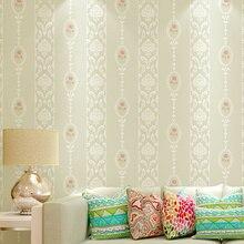 Beibehang-papiers peints verticaux   Papiers peints à rayures, de fabricants italiens, pour salon, décoration murale darrière-plan de la télévision et de la maison