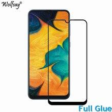 2 sztuk klej na całości ekranu Protector dla Samsung Galaxy A40 pełna obudowa z hartowanego szkła szkło do Samsung A40 A405 9H 2.5D film premium