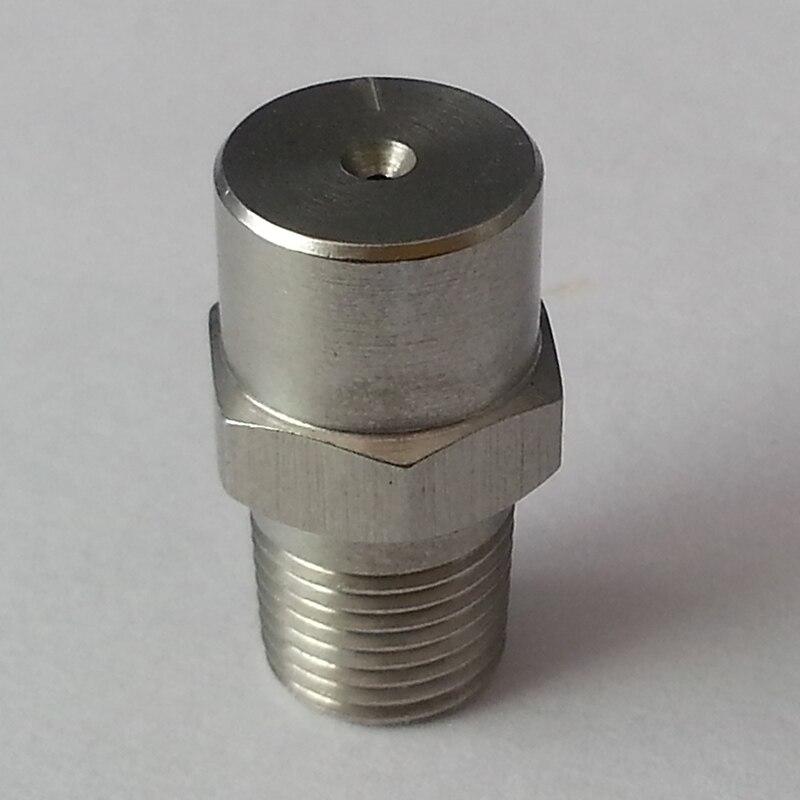 """(10 uds/lote) 1/8 """"SS sólida llena cono boquilla de aspersión de cono boquilla de aspersión lavado de tratamiento de productos químicos de tratamiento"""