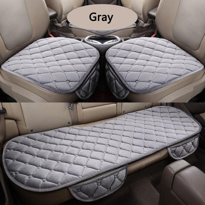 Funda para asiento de coche, cojín para asiento trasero delantero de las cuatro estaciones, almohadilla de protección transpirable, accesorios para coche, talla general