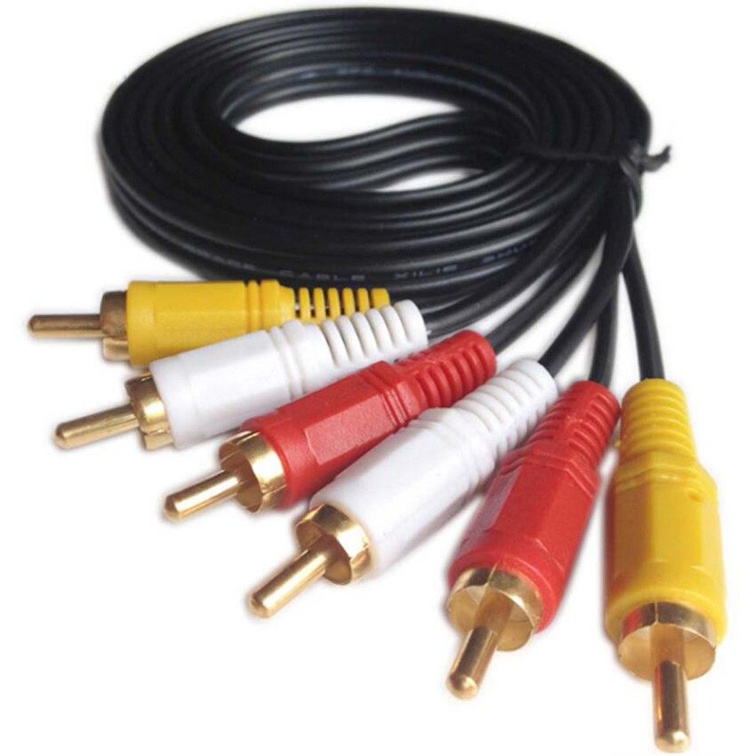 Cable de audio y vídeo AV, decodificador de TV 6 en 1,...