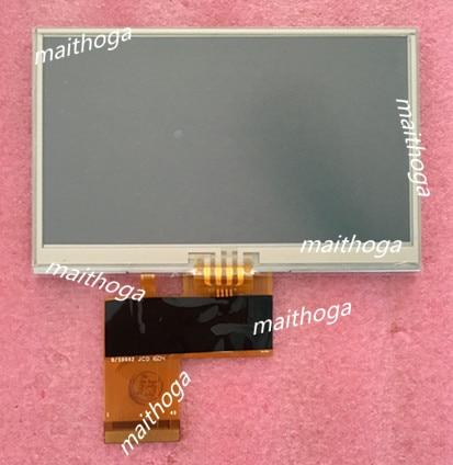 TIANMA 4.3 polegada 40 P Tela TFT LCD com Painel de Toque TM043NBHG06 WQVGA 480 (RGB) * 272