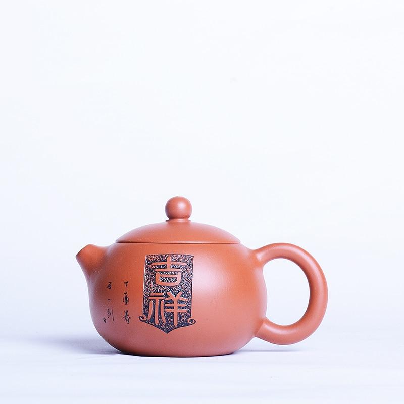 Yixing-إبريق شاي من الطين الأرجواني ، أصلي ، مصنوع يدويًا ، إبريق شاي الكونغ فو زيشا ، طين Zhu ، إبريق شاي Xi Shi ، صندوق هدايا