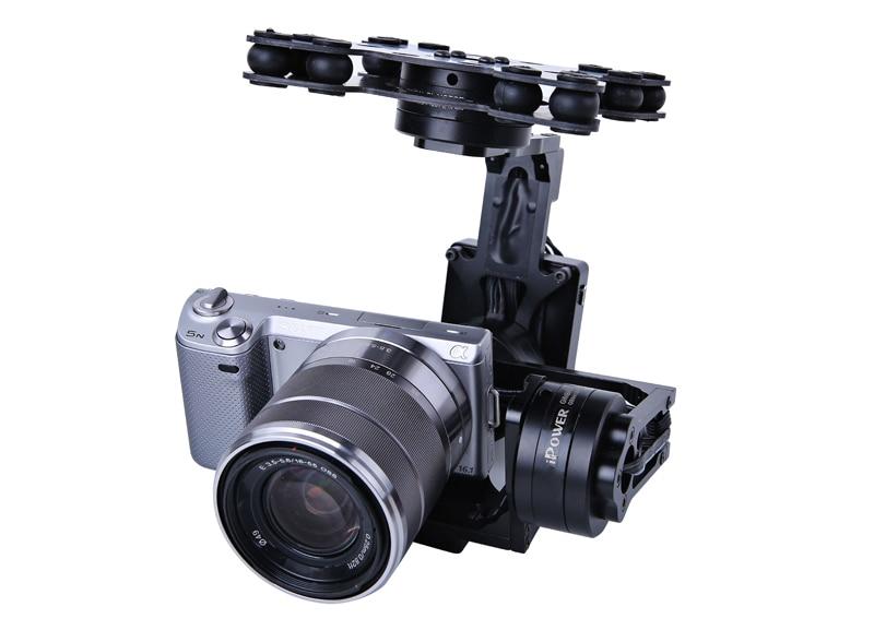 RTF G40 3-осевой воздушный карданный вал с 32-битным контроллер AlexMos для Sony NEX5 RX-100 BMPCC FPV аэрофотосъемка