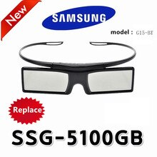 1 pièces/lots remplacement SSG-5100GB 3D Smart LCD LED TV lunettes actives pour Samsung Sony KD-55X8505C 3D TV et epson projecteur