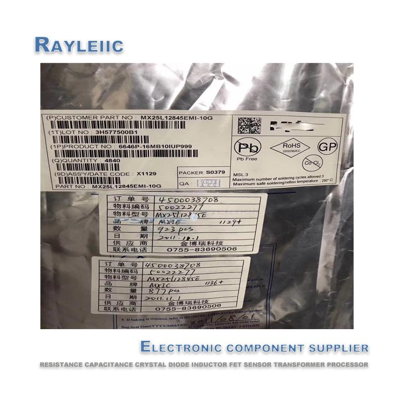 Non-counterfeit.NEW Original MX25L12845EMI-10G MX25L12845EMI MX25L12845 SOP-16 SOP en Stock