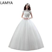 Lace Wedding Dress  Plus Size Customized Crystal Elegant Vintage Bridal Ball Gown Cap Sleeve wedding dress purple