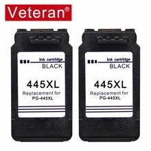 Veterano 445XL 446XL cartucho de Tinta compatível para Canon Pixma PG 445 CL446 pg-445 MG2540 MX494 MG2440 MG2940 MG2942 MG2924 MX492