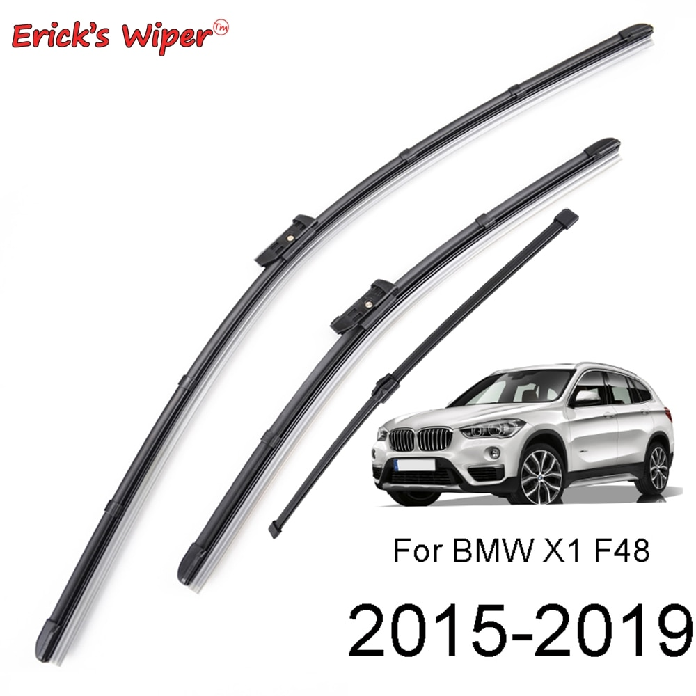 Erick's Wiper LHD Front & Rear Wiper Blades Set For BMW X1 F48 2015 - 2020 2019 2018 2017 2016 Windshield Windscreen 26