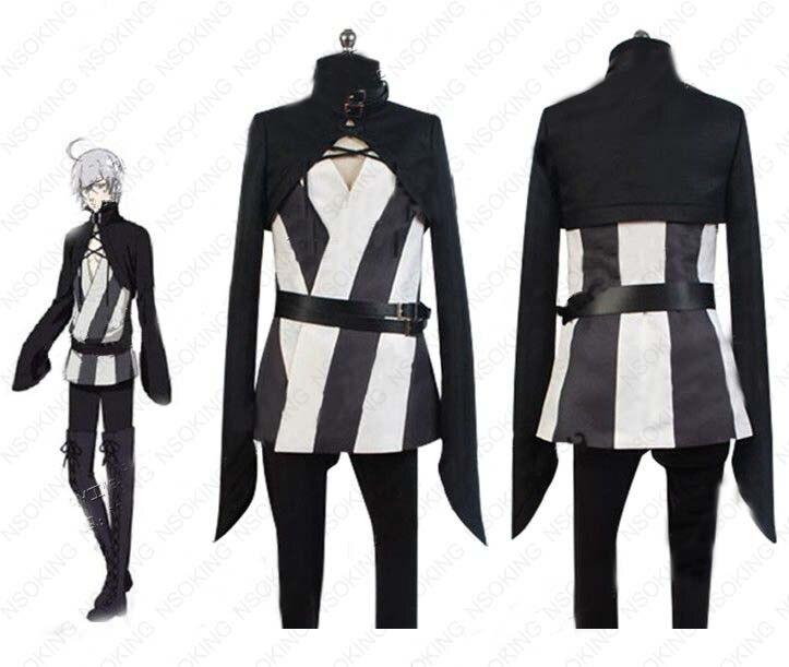 Anime Black Butler serpiente Cosplay Kuroshitsuji circo troup traje hecho a medida