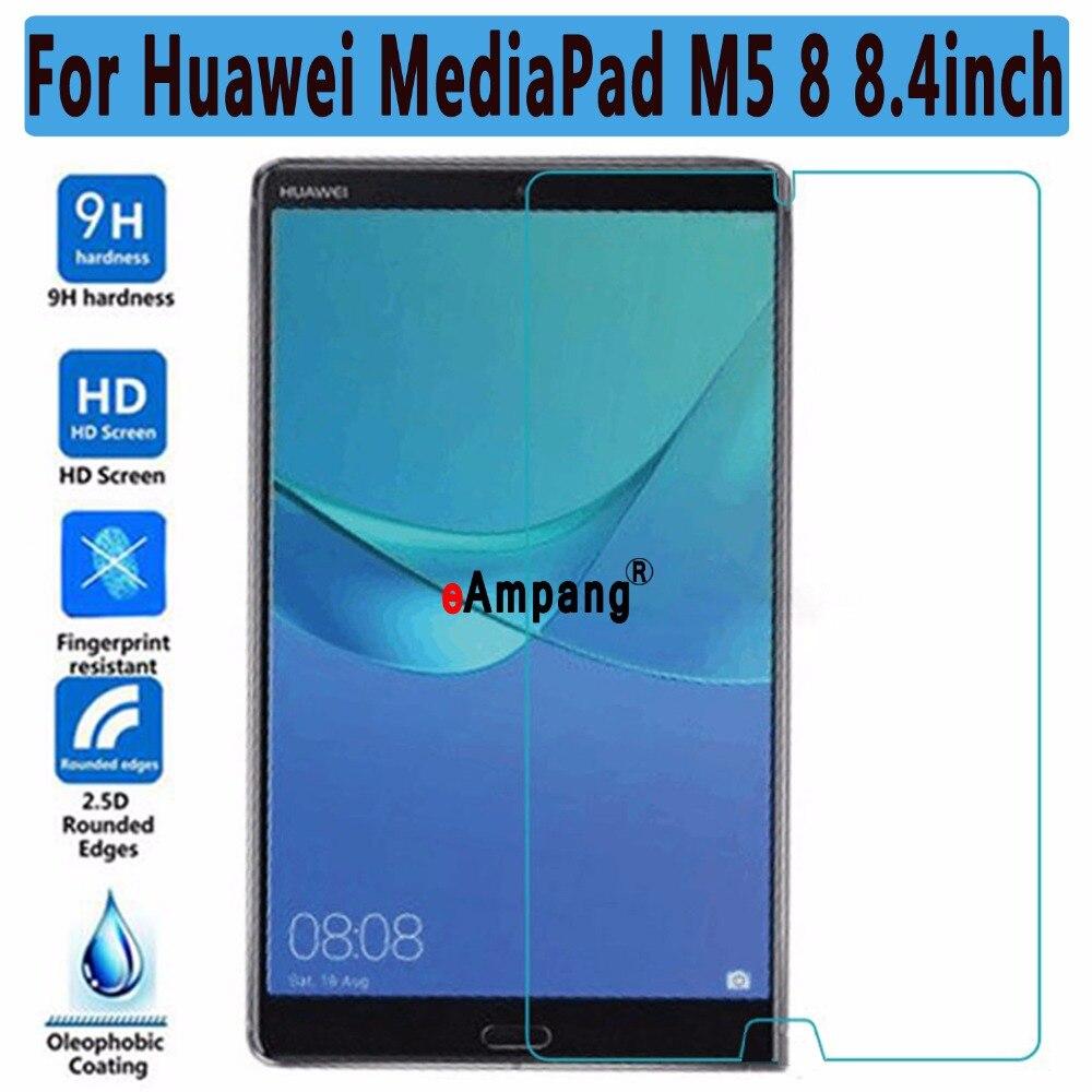 Protector de pantalla de vidrio templado para tableta, película transparente para Huawei...