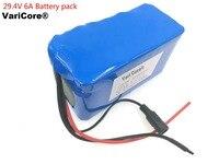 24 V 6Ah 7S3P 18650 סוללה ליתיום נטען 29.4 v 6000 mah חשמלי טוסטוס/חשמלי/ליתיום יון סוללות + משלוח חינם