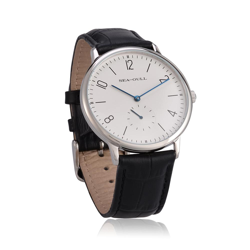 Seagull watches D819.612 Ultra Thin 8mm Hand Wind Men's Watch high quality top brand wrist watch for men enlarge