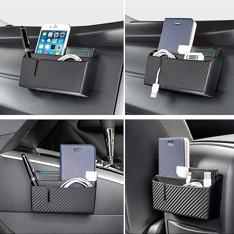 Caja de almacenamiento de accesorios interiores para Mercedes Benz W211 W203 W210 W124 AMG W202 CLA W212 W220 W205 W201 Clase A GLA W176