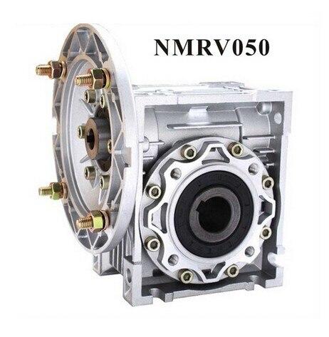 مخفض السرعة الدودي NMRV050 ، 11 مللي متر ، 14 مللي متر ، 19 مللي متر ، عمود الإدخال 7.5:1 - 100 :1 ، نسبة التروس ، علبة التروس Nema 34 ، مخفض السرعة 90 درجة