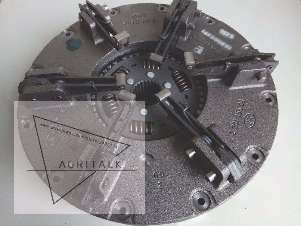 Foton Lovol tracteur pièces, le LUK 14 pouce ensemble dembrayage avec auxiliaire disque, partie nombre L-02435-0045-00