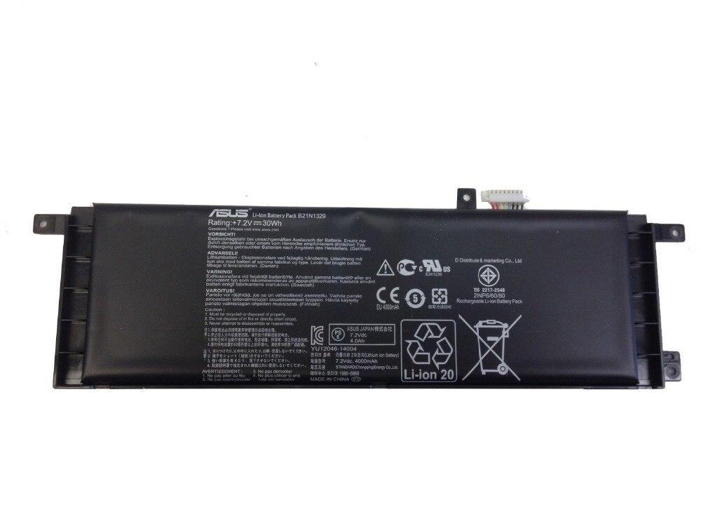 Original nuevo batería para ASUS D553M D553MA D553SA F453 F453MA F453SA P553 P553MA X403 X453 X553 X553M F553M F553MA B21N1329 30WH