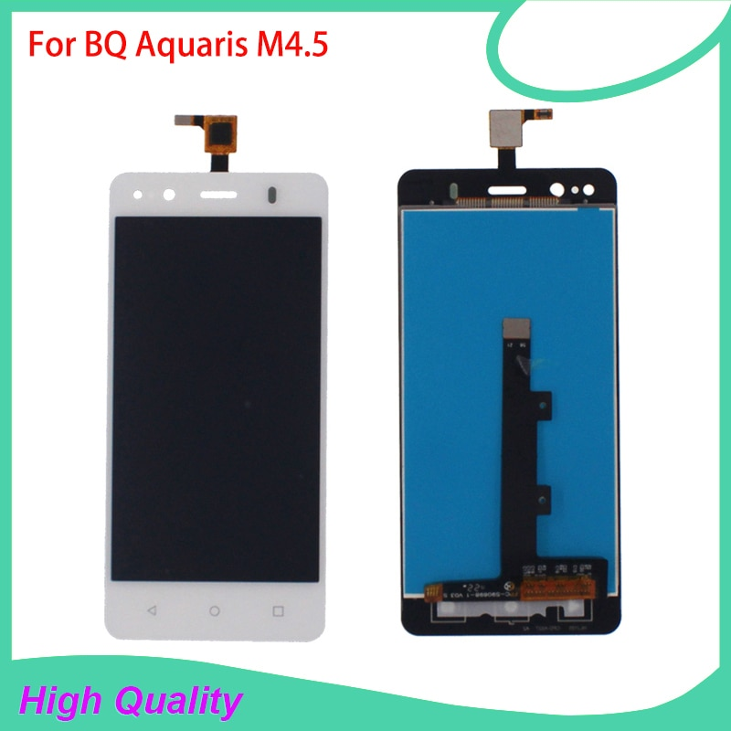 High Quality LCD Display For BQ Aquaris M4.5 4.5Inch Touch Screen Digitizer Assembly 100%Tested Mobi