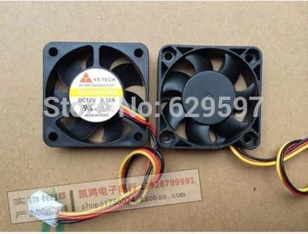 / Y.S.Tech FD124010EB 4CM 40MM 4*4*1CM 40*40*10MM 4010 12V 0.12A ball bearing fan ultra-durable wind capacity