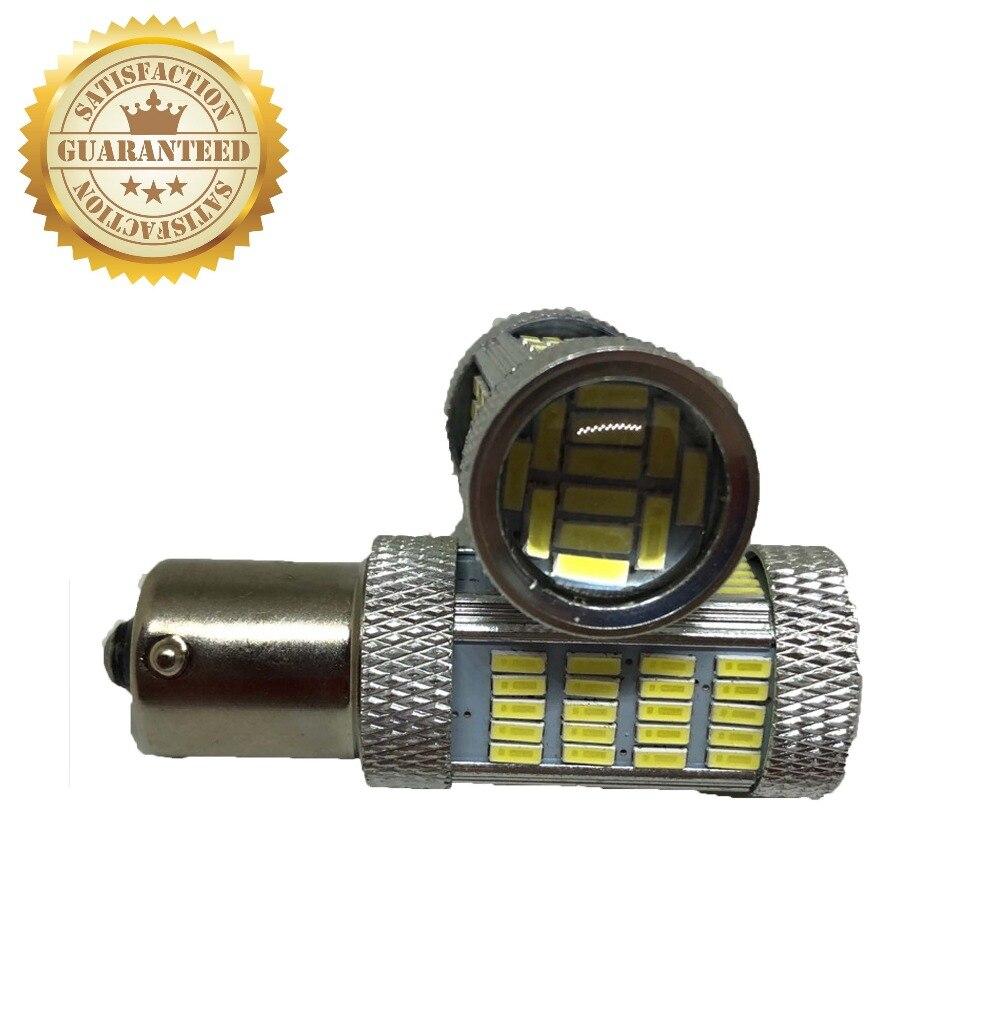 2 uds de fábrica perfecta disponible 12V 1156 4014 92smd LED Bombilla de luz antiniebla Luz de coche de fábrica