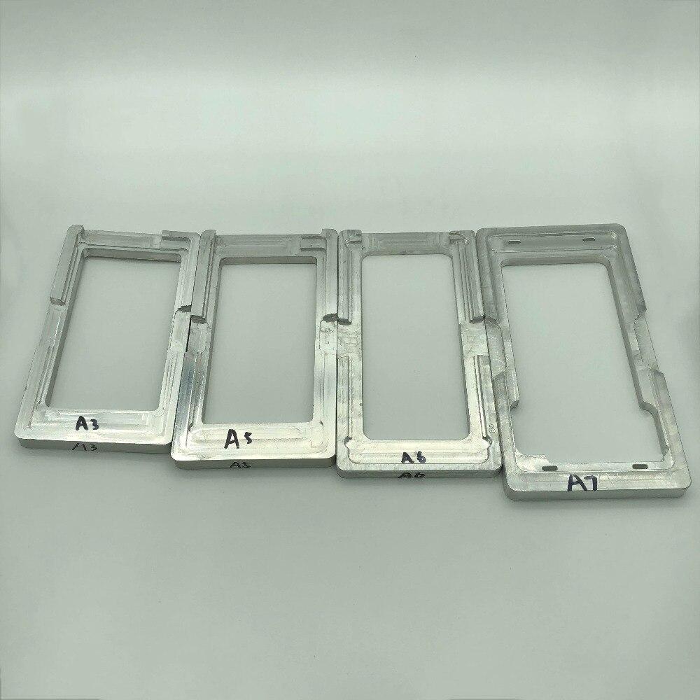 Molde de posicionamento para samsung s3 s3 mini s4 s4 s5 mini s5 s6 s7 digitador da tela lcd alinhamento molde