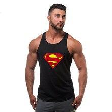 Super héros capitaine amérique marque vêtements Singlets hommes débardeur chemise musculaire Superman Stringer musculation Fitness hommes gilet