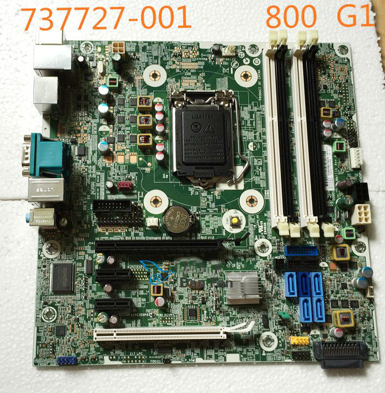 Placa base 737727-001 para HP EliteDesk 800 G1 TWS, placa base 696538-002 737727-501, placa base LG1150, 100% de trabajo completo