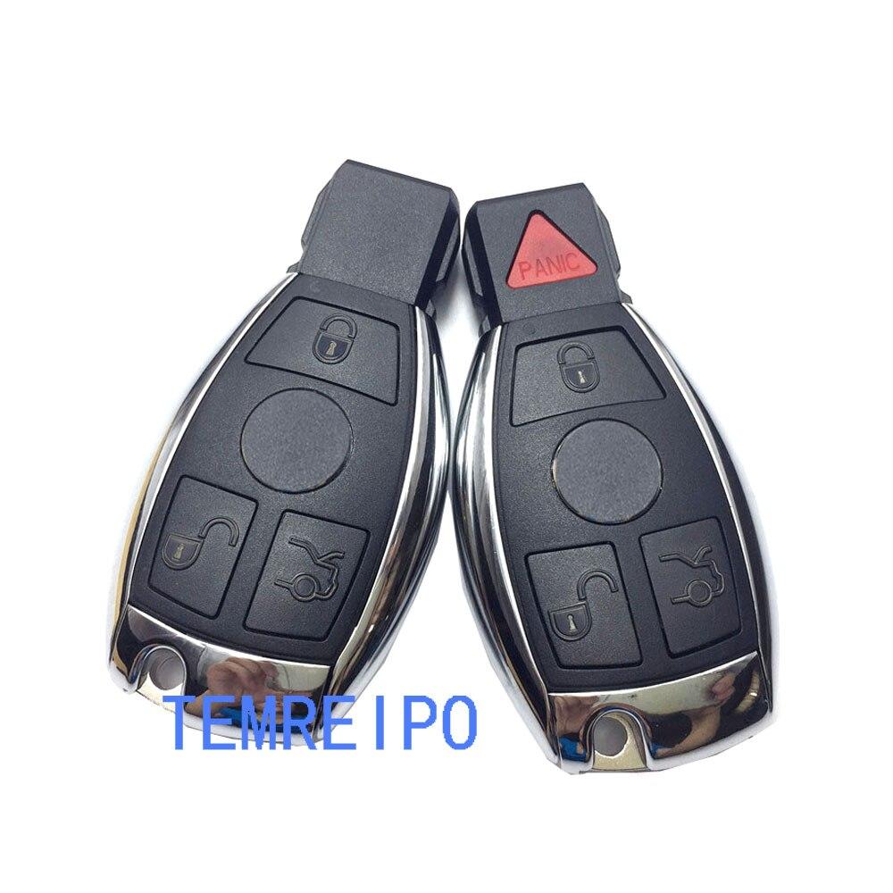 Ersatz Eintrag Key Fall Für Mercedes Benz W203 W210 W211 AMG W204 C E S CLS CLK CLA SLK Classe auto Fernbedienung