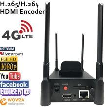 U8Vision H.265 HEVC/H.264 AVC 4G LTE HDMI encodeur vidéo émetteur HDMI encodeur de diffusion en direct sans fil H264 iptv encodeur