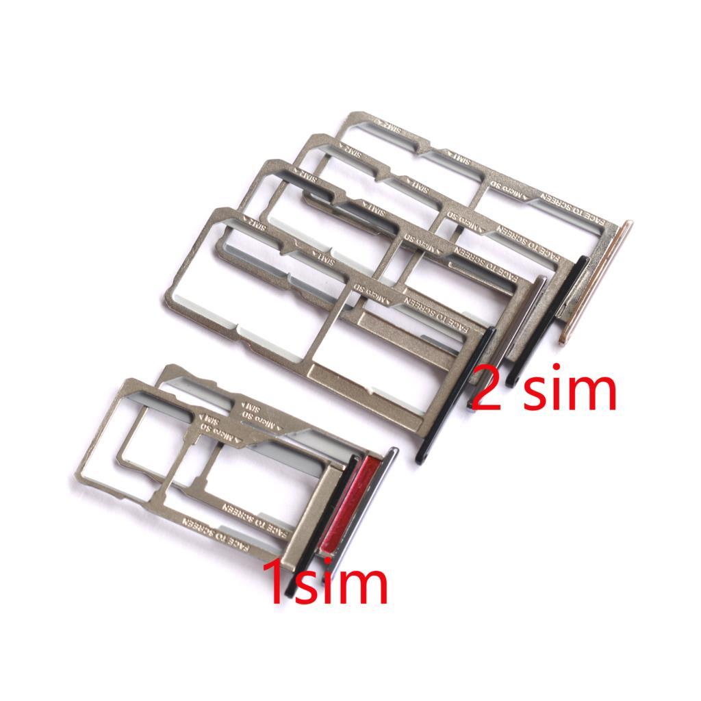 Soporte de ranura para tarjeta Micro SD Nano SIM/bandeja de tarjetas Micro SIM adaptador para Moto E5 E5 plus XT1924 Xt1944