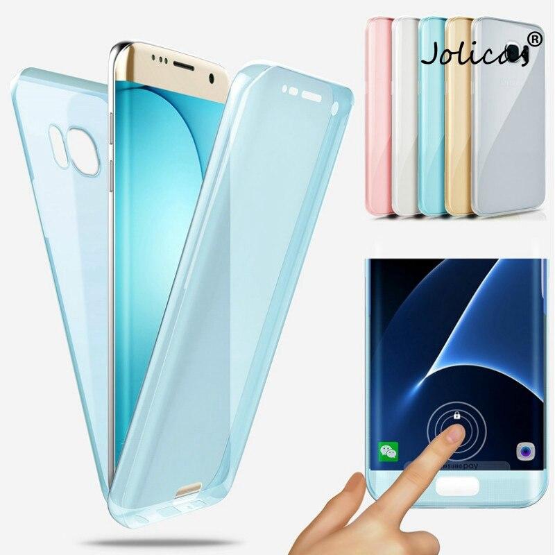 360 Corpo pieno Della Copertura Del Silicone sfor Samsung Galaxy S20 Ultra S10 Lite S9 Più S8 S10E Casse Del Cellulare iPhone 8 7 6 5 Casi componibili