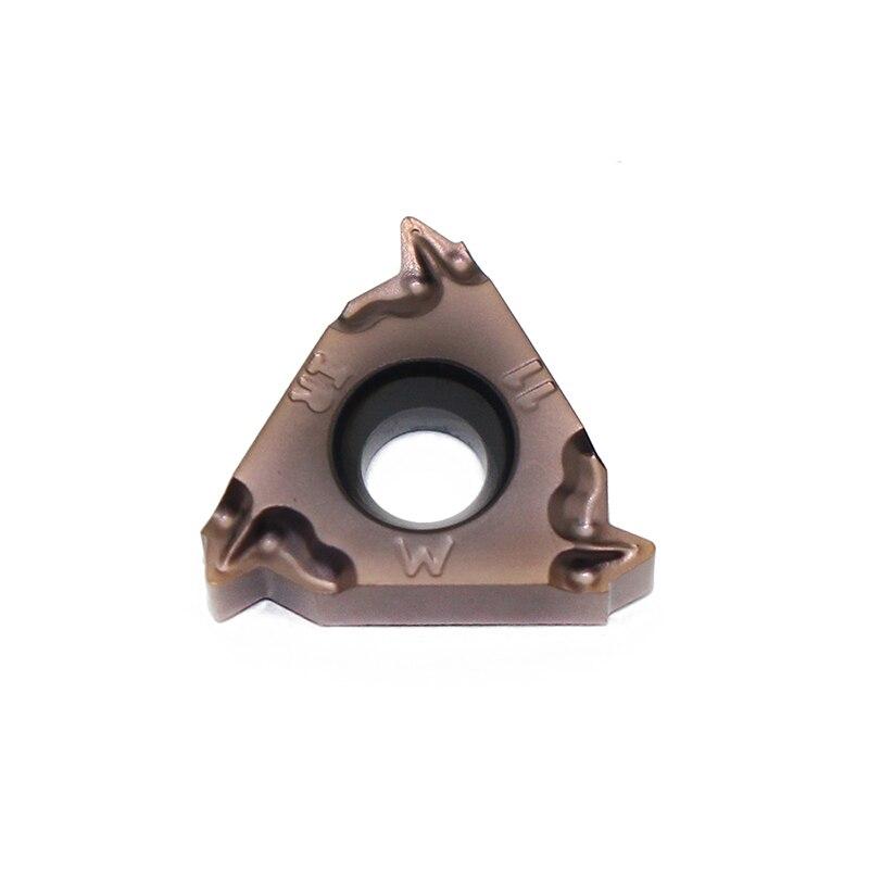 أدوات خراطة, 20 قطعة 16IRM 11 واط LF6018 CNC أداة خرط كربيد إدراج أداة تحول CVD + فيزيائي للبخار طلاء