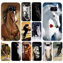 150 H De Beste Paarden Zachte TPU Silicone Cover Case voor samsung galaxy S6 s6 s7 edge s8 s9 plus case