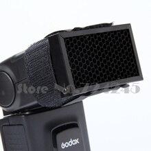 2 pièces GODOX Flash Flash universel nid dabeille miel peigne grille de vitesse pour Studio de photographie Flash